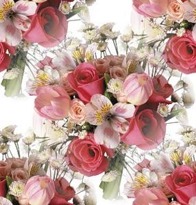 Букетики цветов рисунки