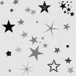 Серые Звёзды на сером фоны